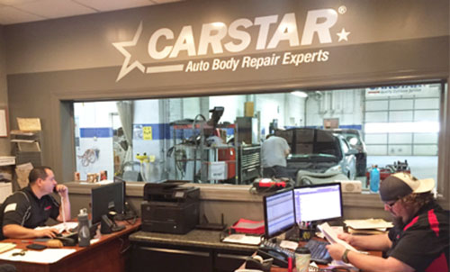 Photo of CARSTAR operations interior